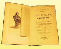 Dutch written account of The Punjab and teh Native Sikhs, 1849