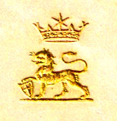 Maharajah Duleep Singh's personal stationary crest