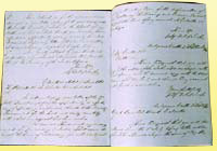 Personal notebook of Maharajah Duleep Singh, includes his address book and finances, c. 1854-1870