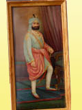 Oil Painting of Maharaja Kharak Singh
