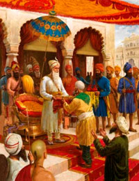 Maharaja Ranjit Singh expanded his small kingdom