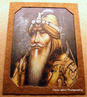 Portrait Of Maharaja Ranjit Singh on Ivory